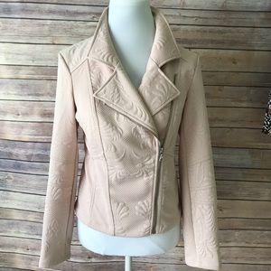 Express Asymmetrical Zippered Textured Jacket